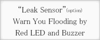 Leak Sensor Warn You Flooding by red LED and Buzzer