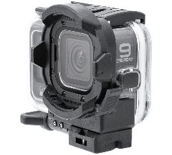 SD Front Mask for HERO9 on GoPro HERO9