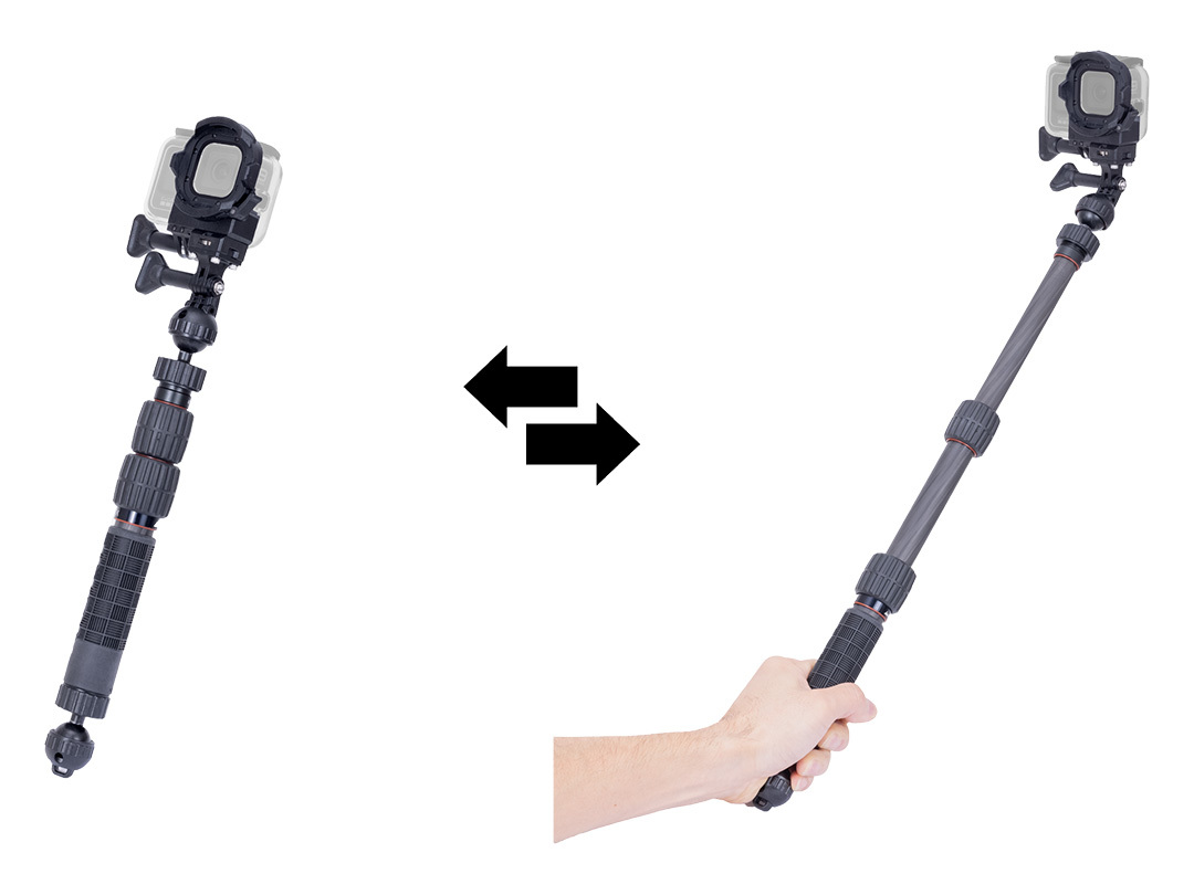 Set-up example - Carbon telescopic Arm S